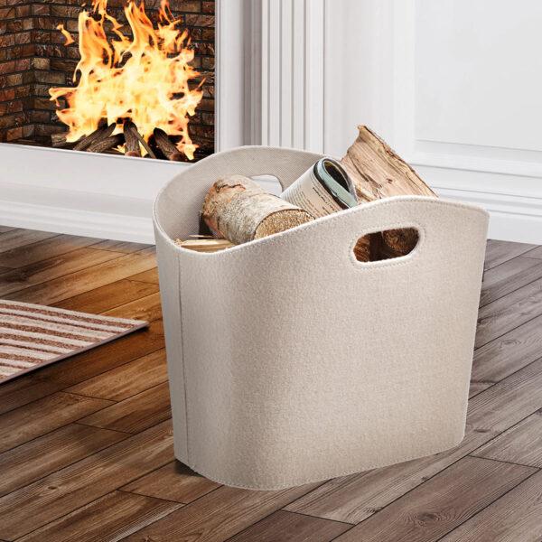 Filztasche für den Wohnbereich