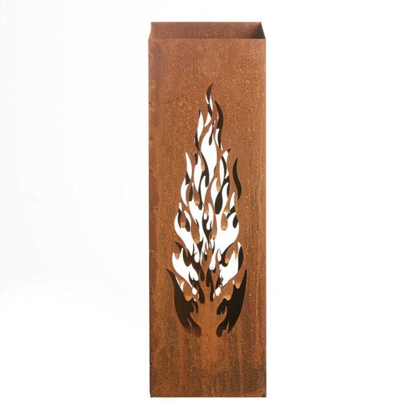 Dekosäule Flammendesign