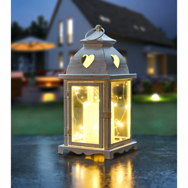 Amare Laterne mit LED-Kerze