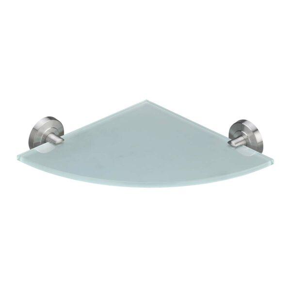 Amare Glas-Eckregal für die Dusche