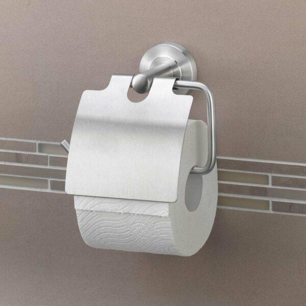 AMARE Toilettenpapierrollenhalter mit Absenkklappe
