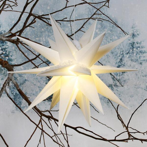 Amare LED Stern weiß