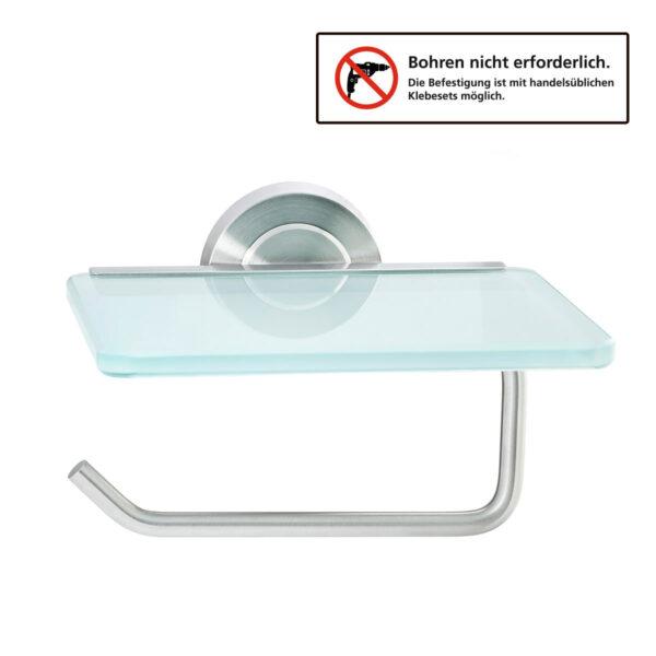 Amare Toilettenpapierhalter aus Glas