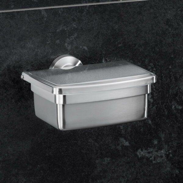 Amare Feuchttücherbox Edelstahl