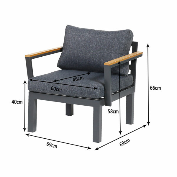 Ambience Lounge Gruppe, Sessel