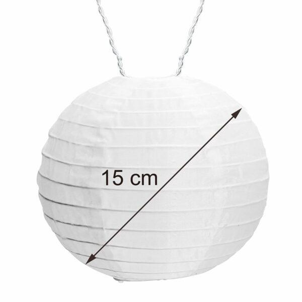 AMARE Lichterkette Durchmesser