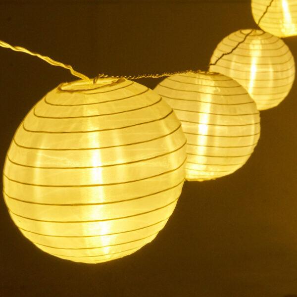 AMARE Lichterkette Lampions