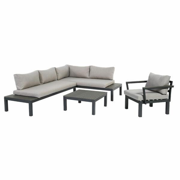 Ambience Lounge Gruppe mit Ecksitz und Sessel