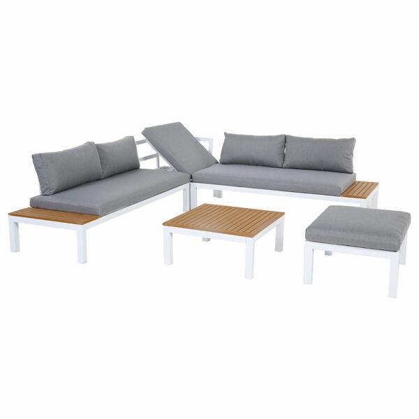 Ambience Lounge Gruppe mit Ecksitz & Hocker