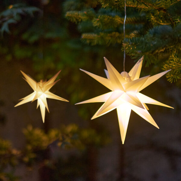Amare LED-Stern weiß