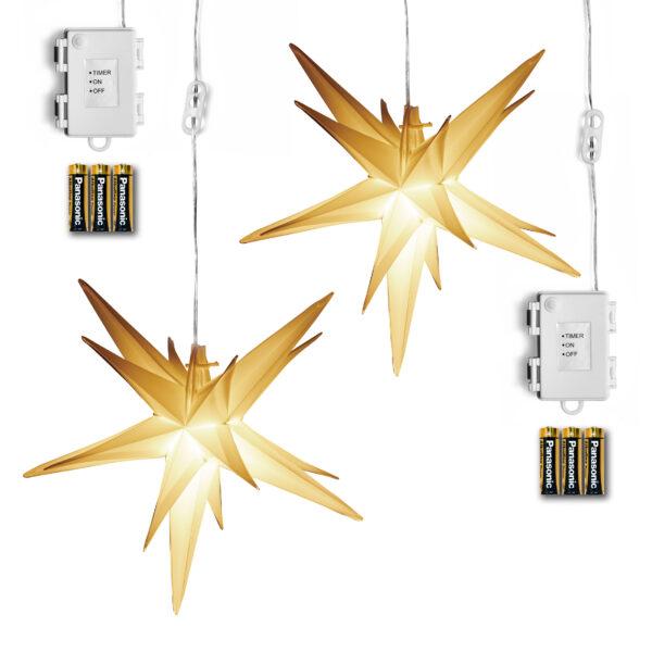 AMARE LED Sternenlichterkette