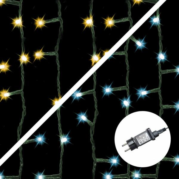 Amare Lichterkette warmweiß/kaltweiß