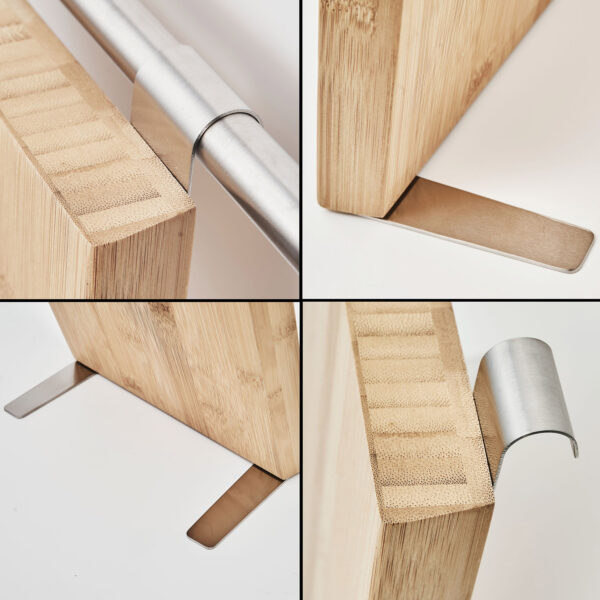 AMARE Messerhalter aus Bambus