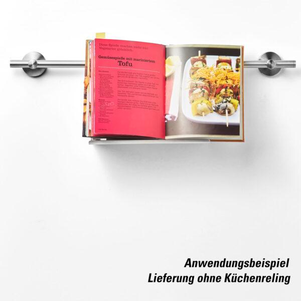 AMARE Tablethalter & Kräutertopf aus Edelstahl