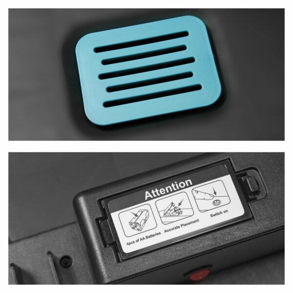 AMARE Sensor Mülleimer - Geruchsfilter und Batteriefach