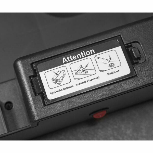 AMARE Sensor Mülleimer - Batteriefach