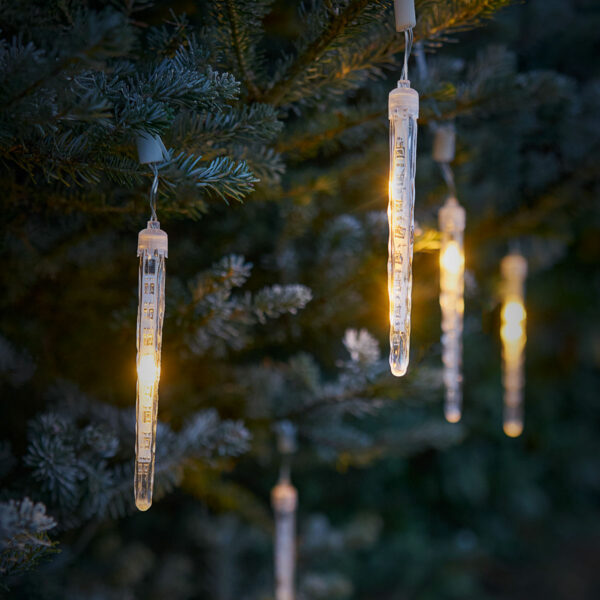 Amare LED Eiszapfenlichterkette