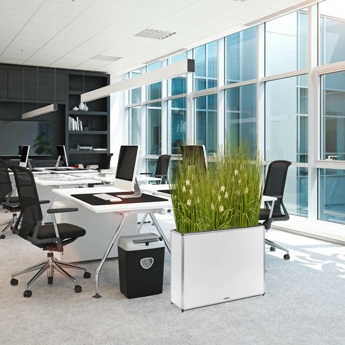Miami Planter Pflanzkübel weiß