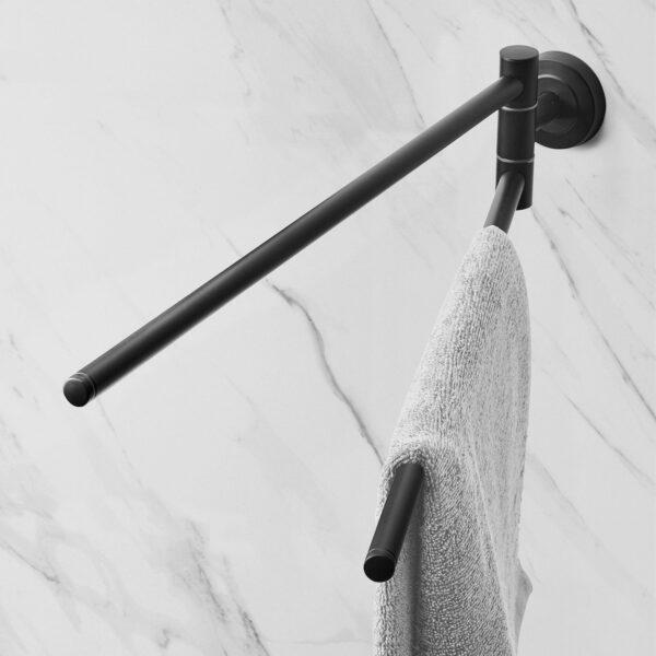 AMARE 2-armiger Handtuchhalter – Edelstahl