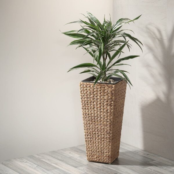 Gartenfreude Pflanzkübel aus Wasserhyazinthe
