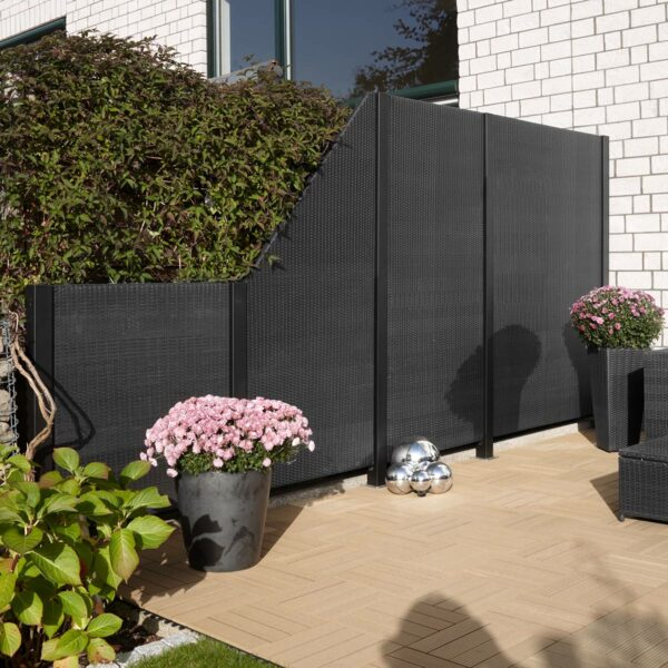 Gartenfreude Polyratten Sichtschutz